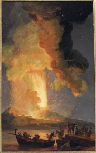 Eruption-du-vésuve.-Volaire,